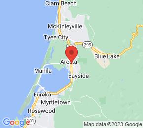 Job Map - Arcata, California  US