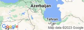 Ardabīl map