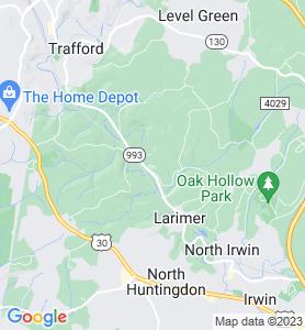 Ardara PA Map