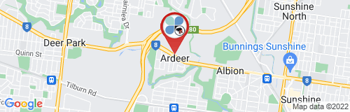 Ardeer google map