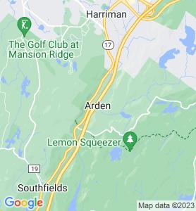 Arden NY Map