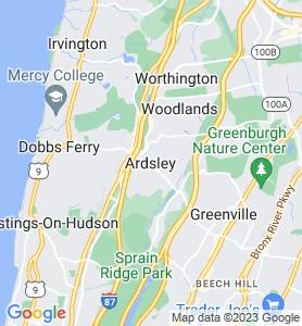 Ardsley NY Map
