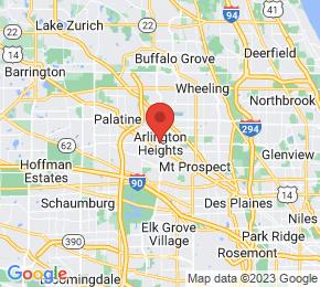 Job Map - Arlington Heights, Illinois  US