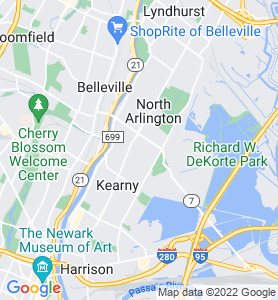 Arlington NJ Map