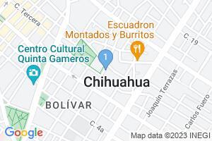 Google Map of Armonia Estetica, Chihuahua