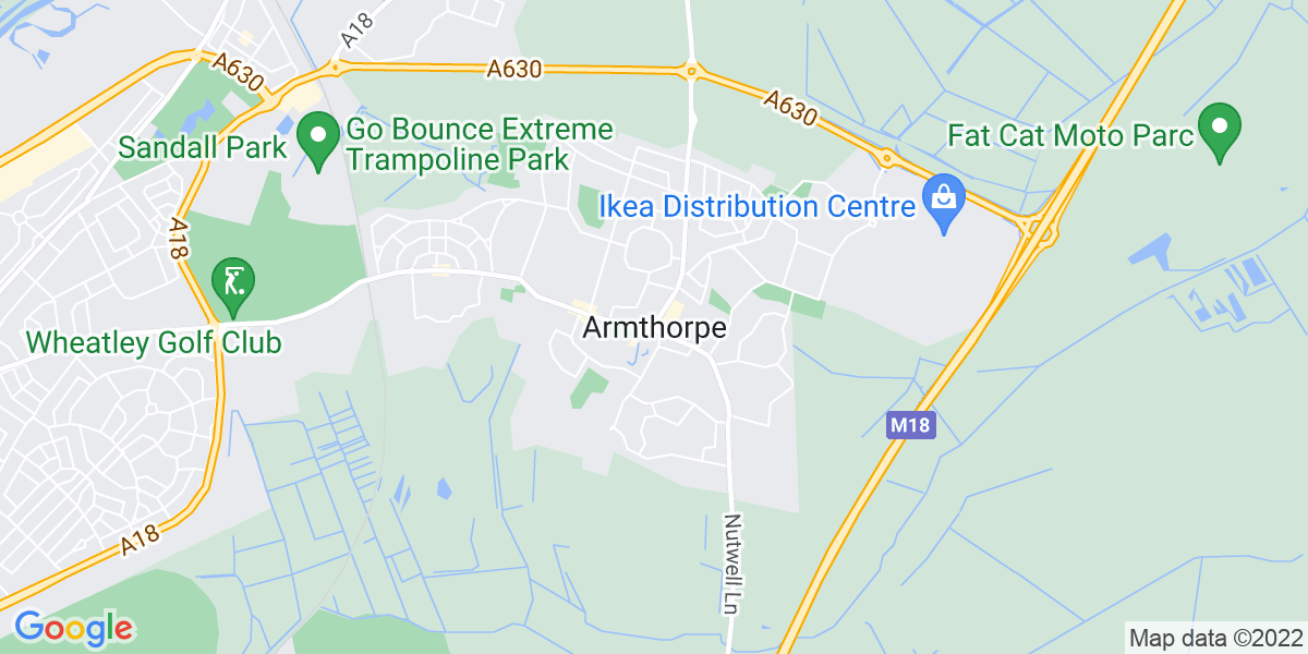 Map: Resource Planning Analyst Contact Centre job role in Armthorpe