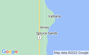 Map of Spruce Sands Trailer Resort