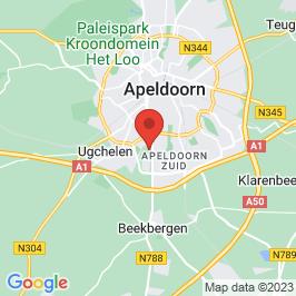 Google map of Politieacademie in Aartsbisschoppelijk Klein Seminarie, Apeldoorn