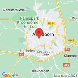 Google map of Zuiderkerk, Apeldoorn