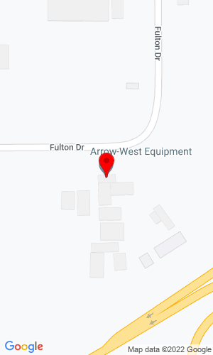 Google Map of Arrow-West Equipment LTD 109-53016 Hwy 60, Edmonton/Alberta, CN, T7X 5A7