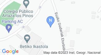 Betiko ikastola mapa