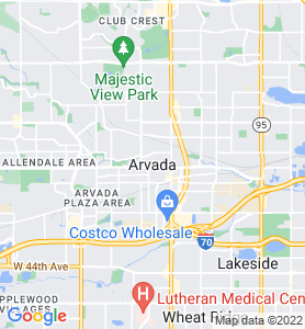 Arvada CO Map