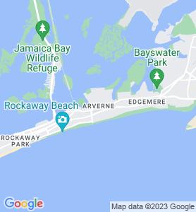 Arverne NY Map