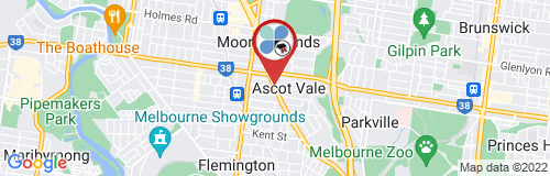 Ascot Vale google map