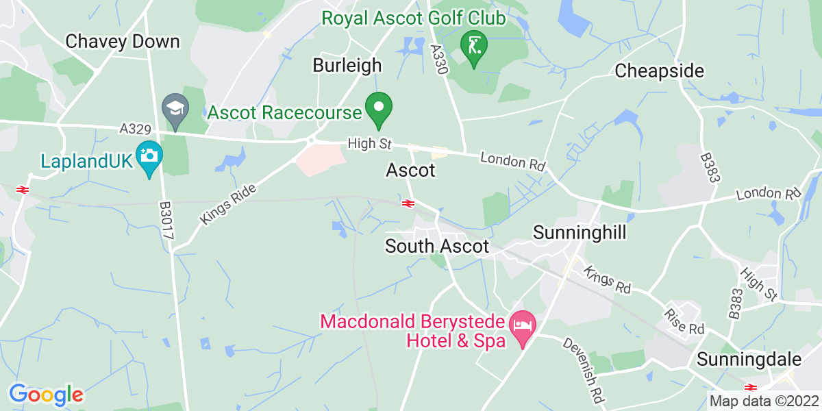 Map: Brand Communications Executive position in Ascot