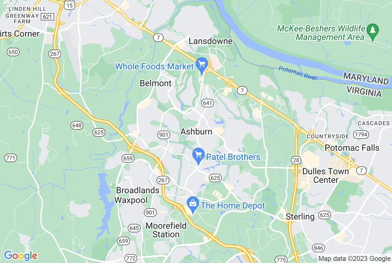 Truck map