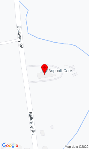 Google Map of Asphalt Care Equipment Incorporated 2765 Galloway Road, Bensalem, PA, 19020