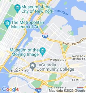 Astoria NY Map