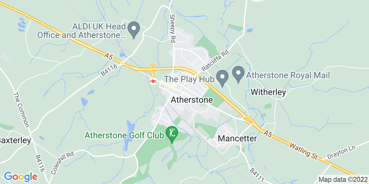 Map: Operational Trainer - Nights role in Atherstone