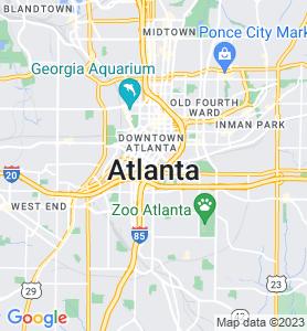 Atlanta GA Map