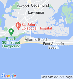 Atlantic Beach NY Map