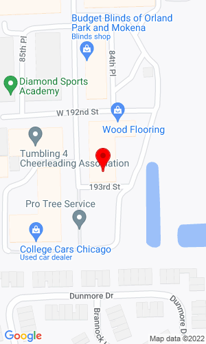 Google Map of Atlas Bobcat 19245 Blackhawk Parkway, Mokena, IL, 60448