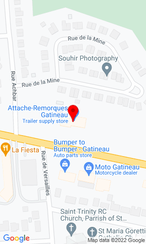 Google Map of Attache-Remorques Gatineau 655 Blvd Maloney East, Gatineau, QC, J8P 1G3
