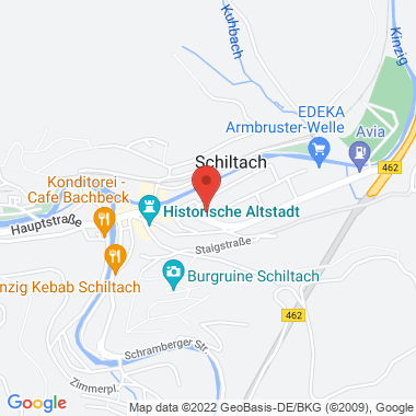 Auestraße - Google Map Karte