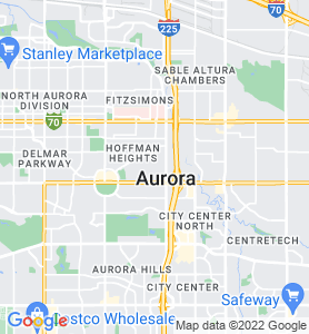 Aurora CO Map