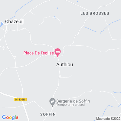 bed and breakfast Authiou