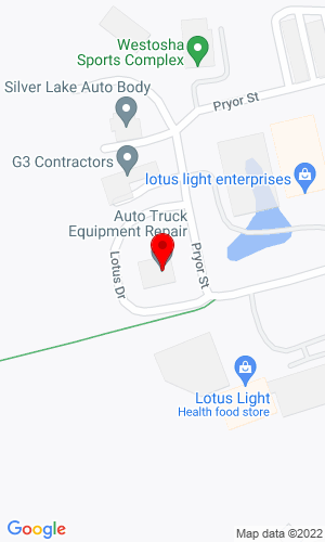 Google Map of Auto Truck Equipment Repair 28501 Wilmot Road, Trevor, WI, 53179