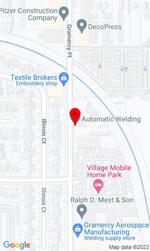 Google Map of Automatic Welding & Supply 3038 Rampart Dr, Anchorage, AK, 99501