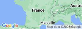 Auvergne map