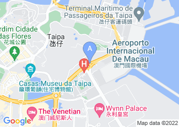 Map for Macau University of Science and Technology