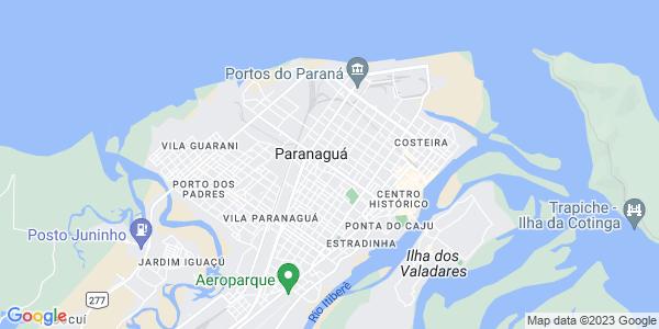 Google Map of Av.+Coronel+Santa+Rita%2C+622+%282_+floor%29%2C+Paranagu%C3%A0%2C+PR+Brazi