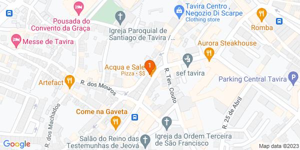Google Map of Av. Dr. Mateus Teixeira de Azevedo 8 A, 8800-379 Tavira