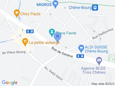 Av. François-Adolphe Grison 6 1225 Chêne-Bourg