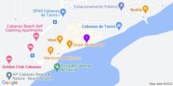 Google Map of Av. Ria Formosa 20, 8800-594 Cabanas, Portugal