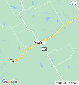 Avalon TX Map