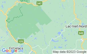 Map of Parc Régional De La Forêt Ouareau