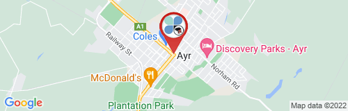 Ayr google map