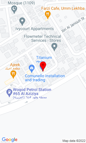 Google Map of Al Khalaf Trading Contracting Aziziya, Doha,