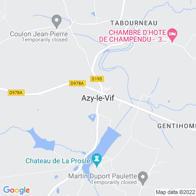 bed and breakfast Azy-le-Vif