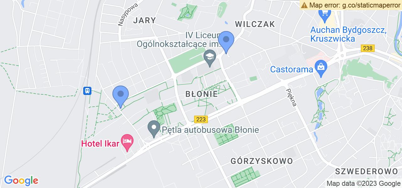 Osiedle Błonie w Bydgoszczy – w tych punktach ekspresowo wyślesz turbinę do autoryzowanego serwisu