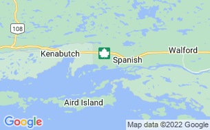 Map of Brennan Harbour RV Park