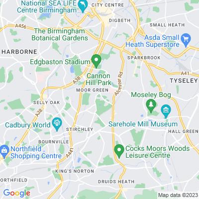 Highbury Hall and Park Location