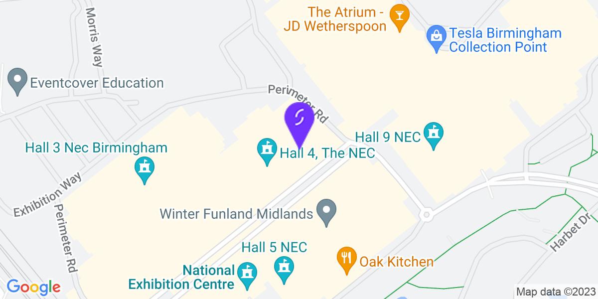Google Map of B40 1NT