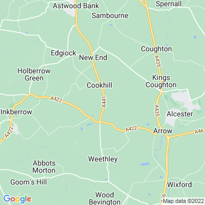 Cookhill Priory Location