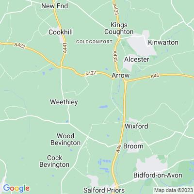 Ragley Hall Location