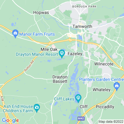 Drayton Manor Location